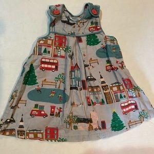 Mini Boden Christmas Pinnie